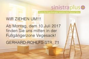 Ab dem 10.07. ist die Praxis für Ergotherapie in der Vegesacker Innenstadt Gerhard-Rohlfs-Str. 71